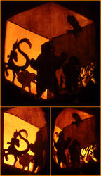 The Escafil Pumpkin by johwee