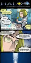 Cortana's Birth by GRANDBigBird