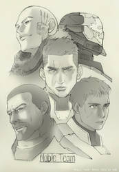 Noble Team by GRANDBigBird
