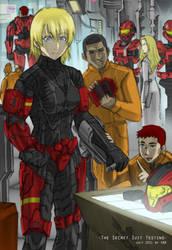 The Secret Suit Testing by GRANDBigBird