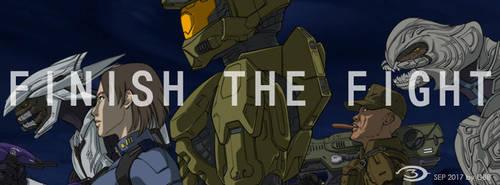 FINISH THE FIGHT by GRANDBigBird