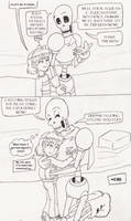 I Caught the Human?! Page 13 Redux by SonicRose