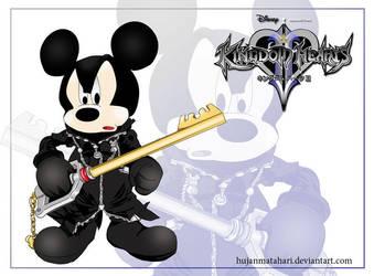KH: Mickey Mouse by hujanmatahari