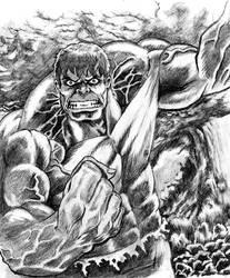 80's Hulk by mmasamun3