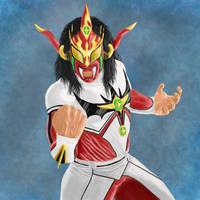 Jushin Thunder Liger by mmasamun3