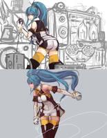 Anime Revolution - Senkaku Mei by pantsu-pirate