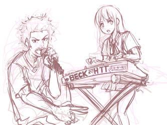 Beck x HTT by pantsu-pirate