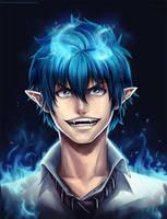Rin Okumura: Remastered by ThunderSeth