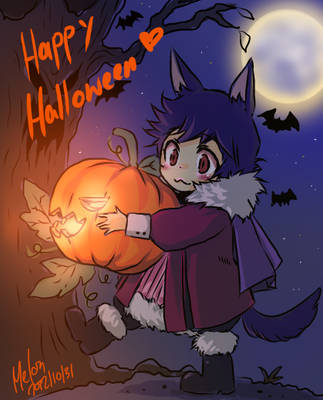 happy halloween by Kiwimyu