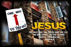 Jesus the way by GodwinAP