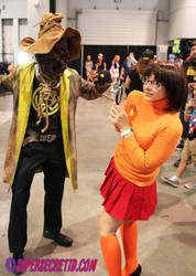 Scarecrow Vs Velma Amaz LVCC by norrit07