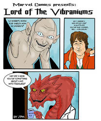 Lord of the Vibrainiums by norrit07