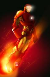 Iron Man Mach 43 by norrit07