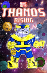 Thanos Rising by norrit07