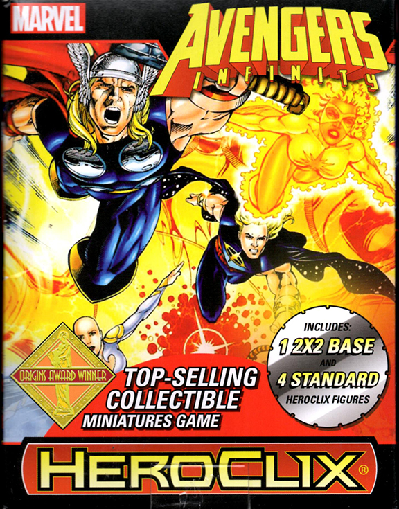 Avengers Infinity Heroclix Box by norrit07