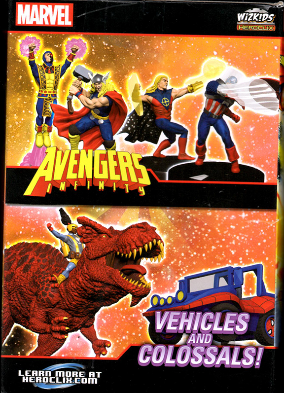 Avengers Infinity Heroclix Box 2 by norrit07
