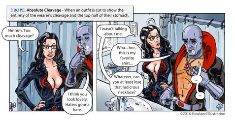Twisted Tropes - Absolute Cleavage by MikeHowland