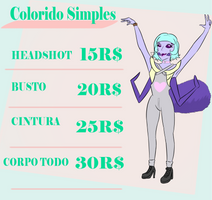 Commissions Corpo simples by ThaizPandinha