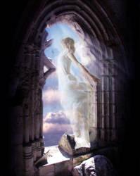 Angel by Saqium