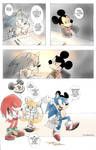 how Sonic joined at Wreck it Ralph cast by twisted-wind