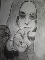 Ozzy Osbourne by BenTheGhost6704