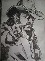 Lemmy Killmister by BenTheGhost6704