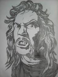 James Hetfield Cartoon Style by BenTheGhost6704