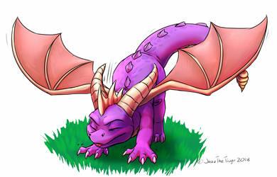 Spyro! by JazzTheTiger