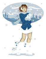 Christmas card by VanessaSatone