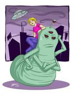 The odd couple colored by VanessaSatone