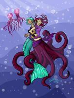 Valentine's Mermaids by VanessaSatone