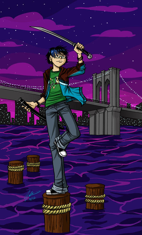 Down at the Pier by VanessaSatone