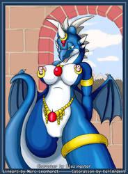 Dragoness by Blazingstar by EarlArdent