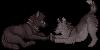 XwolfxKatastrophe icons by pandapoots