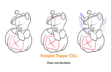 Open commissions: Pumpkin Popper by Nytewell