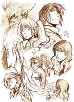 Sketchings by tiggerfactory