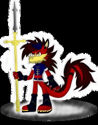 Lloyd the Dragon by kyogia2864