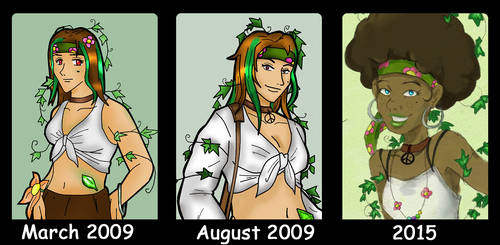 Evolution of Emerald - 2015 by Crystal124