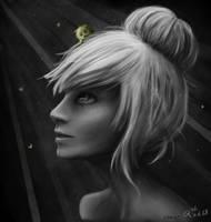 My shining hero by Rongness