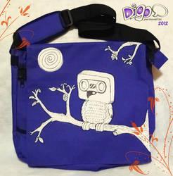 Owl Music bolsa by digo-personaliza