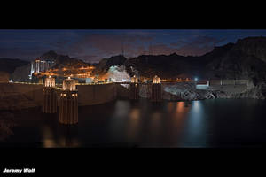 Hoover Dam Intake by ZombieSS
