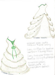 My Wedding Dress by ambrosiahino