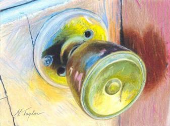 Mystery - Prismacolor Pencil by Devynn