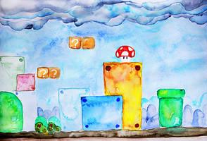 Super Mario Bros. 3 by ElyneNoir