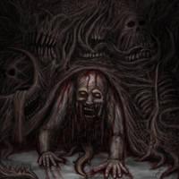 Devouring Horror by JIVargas