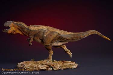 Giganotosaurus carolinii 1:15 scale model by nwfonseca