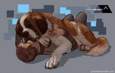 Cuddles by Tenshi-Inverse