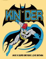 Batman Card by byrney