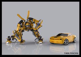 Bumblebee by Tarikpanchal