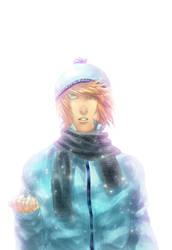 Aqua Snow by LzzleFzzle